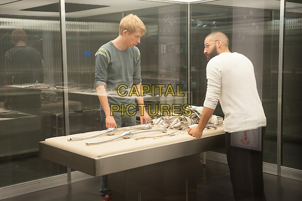 Domhnall Gleeson &amp; Oscar Isaac <br /> in Ex Machina (2015)<br /> *Filmstill - Editorial Use Only*<br /> CAP/NFS<br /> Image supplied by Capital Pictures