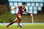 27 September 2012: Florida State's Nora Kervroedan (FRA). The University of North Carolina Tar Heels played the Florida State University Seminoles at Fetzer Field in Chapel Hill, North Carolina in a 2012 NCAA Division I Women's Soccer game. Florida State won the game 1-0.