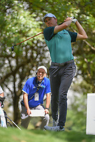 Jordan Spieth (USA) watches his tee shot on 16 during round 3 of the World Golf Championships, Mexico, Club De Golf Chapultepec, Mexico City, Mexico. 2/23/2019.<br /> Picture: Golffile | Ken Murray<br /> <br /> <br /> All photo usage must carry mandatory copyright credit (© Golffile | Ken Murray)