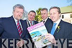 Pictured at the launch of Killarney being chosen as a model town to develop sustainable tourism, in The Malton hotel on Friday were Jerry O'Grady, Brian O'Leary, Pat Dawson and Donnacha Galvin.....