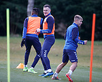 22.11.2019 Rangers training: George Edmundson