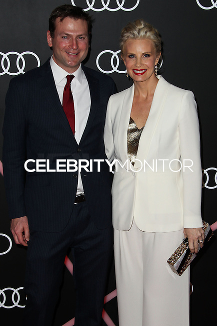 LOS ANGELES, CA - JANUARY 09: Daniel Christopher Allison, Monica Potter at the Audi Golden Globe Awards 2014 Cocktail Party held at Cecconi's Restaurant on January 9, 2014 in Los Angeles, California. (Photo by Xavier Collin/Celebrity Monitor)