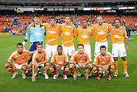 Houston Dynamo starting eleven. The game between DC United and the Houston Dynamo game was postponed due to bad weather on Wednesday June 4, 2008 at RFK Stadium.