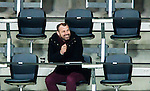 Stockholm 2015-03-14 Bandy Bronsmatch Hammarby IF - Villa Lidk&ouml;ping BK :  <br /> TV4 kommentator Daniel Kristiansson p&aring; pressl&auml;ktaren under matchen mellan Hammarby IF och Villa Lidk&ouml;ping BK <br /> (Foto: Kenta J&ouml;nsson) Nyckelord:  Tele2 Arena SM Brons Bronsmatch Tredjepris herr herrar Hammarby HIF Bajen Villa Lidk&ouml;ping VLBK TV TV-k&auml;ndis k&auml;ndis