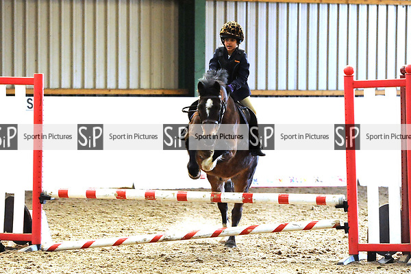 Class 4. Unaffiliated showjumping. Brook Farm Training Centre. Essex. UK. 03/12/2017. ~ MANDATORY Credit Ellen Szalai/Sportinpictures - NO UNAUTHORISED USE - 07837 394578
