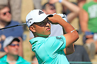 Xander Schauffele (USA) tees off the 7th tee during Saturday's Round 3 of the Waste Management Phoenix Open 2018 held on the TPC Scottsdale Stadium Course, Scottsdale, Arizona, USA. 3rd February 2018.<br /> Picture: Eoin Clarke | Golffile<br /> <br /> <br /> All photos usage must carry mandatory copyright credit (&copy; Golffile | Eoin Clarke)