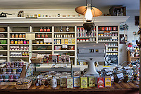 Traditional general store located within the Calvin Coolidge Homestead District, Plymouth Notch, Vermont, USA