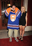 LOS ANGELES, CA- SEPTEMBER 16: Writer/director Kevin Smith (L) and his daughter Harley Quinn Smith arrive at the Los Angeles premiere of 'Tusk' at the Vista Theatre on September 16, 2014 in Los Angeles, California.
