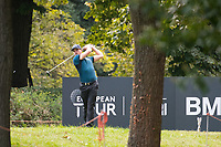 Haydn Porteous (RSA) in action on the 6th hole during the first round of the 76 Open D'Italia, Olgiata Golf Club, Rome, Rome, Italy. 10/10/19.<br /> Picture Stefano Di Maria / Golffile.ie<br /> <br /> All photo usage must carry mandatory copyright credit (© Golffile | Stefano Di Maria)