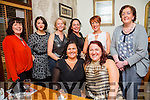 Majella O'Sullivan and Tania O'Sullivan from Tralee celebrating their birthdays with family and friends on Sunday night. Front l-r  Majella o'sullivan and Tania O'Sullivan. Back l-r Geraldine Gardici, Vicky Young, Fiona Cantillon, Ann Greene, Caroline Martin and Mary Horan
