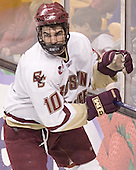 Brian Boyle - The Boston College Eagles defeated the Northeastern University Huskies 5-2 in the opening game of the 2006 Beanpot at TD Banknorth Garden in Boston, MA, on February 6, 2006.