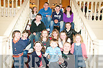 Confirmation Party: Roisin  & Conor Fitzgerald, Templeglantine,  enjoying their Confirmation party at The Listowel Arms Hotel on Saturday with their cousins , the Curtin & Fitzgeralds.