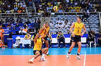RIO DE JANEIRO, RJ, 13 DE JULHO DE 2013 --  RIO DE JANEIRO, RJ, 13 DE JULHO DE 2013 -LIGA MUNDIAL DE VOLEI-BRASILXEUA-  Carbonera Eder da seleção brasileira durante a partida Brasil x Estados Unidos na Liga Mundial de Volei , no Maracanazinho, na manhã deste sábado, 13, zona norte do Rio de Janeiro.FOTO:MARCELO FONSECA/BRAZIL PHOTO PRESS