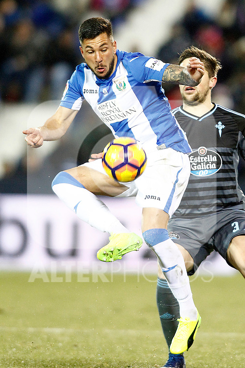 Celta de Vigo's Miguel Angel Guerrero during La Liga match. January 28,2017. (ALTERPHOTOS/Acero)