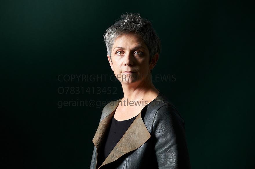 Denise Mina  ,Scottish Crime writer and author  at The Edinburgh International Book Festival 2011.  Credit Geraint Lewis