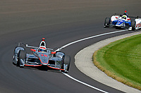 Verizon IndyCar Series<br /> Indianapolis 500 Carb Day<br /> Indianapolis Motor Speedway, Indianapolis, IN USA<br /> Friday 26 May 2017<br /> Will Power, Team Penske Chevrolet, Jay Howard, Schmidt Peterson Motorsports Honda<br /> World Copyright: F. Peirce Williams
