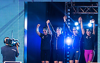 Team Italy<br /> FERRAIOLI Erika<br /> PELLEGRINI Federica<br /> BIONDANI Giorgia <br /> MIZZAU Alice<br /> day 01  08-08-2017<br /> Energy For Swim<br /> Rome  08 -09  August 2017<br /> Stadio del Nuoto - Foro Italico<br /> Photo Deepbluemedia/Insidefoto