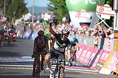 17th May 2017, Emilia-Romagna, Italy; Firenze to Bagno Di Romagna; Giro D italia stage 11;  Dimension Data; Fraile Matarranz Omar crosses the line in Bagno Di Romagna;