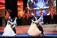 CALI -COLOMBIA-06-11-2015. Compañía Manuel Liñan de España durante el<br /> lanzamiento de la 2a Bienal de Danza Internacional de Cali realizado en el Boulevard del Río. / Manuel Liñan group from Spain during the launch of the 2nd Biennial International Dance of Cali made at the River Boulevard.  Photo: VizzorImage/Juan C. Quintero/STR
