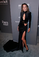 NEW YORK, NY - FEBRUARY 6: Alessandra Ambrosio arriving at the 21st annual amfAR Gala New York benefit for AIDS research during New York Fashion Week at Cipriani Wall Street in New York City on February 6, 2019. <br /> CAP/MPI99<br /> &copy;MPI99/Capital Pictures