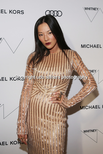 Tina Loves Blog's Tina Leung wearing Pamela Roland at  the Whitney Museum's annual Spring Gala and Studio Party 2017 sponsored by Audi and Michael Kors  in New York City.