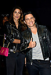 MIAMI, FL - OCTOBER 24: Alejandro Chaban and Penelope Sosa is seen arriving to the Ricky Martin concert at American Airlines Arena on Saturday October 24, 2015 in Miami, Florida.  ( Photo by Johnny Louis / jlnphotography.com )