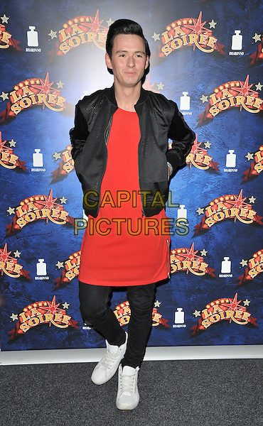 Lorcan London attends the &quot;La Soiree&quot; VIP press night, La Soiree Spiegeltent, Southbank Centre, Belvedere Road, London, England, UK, on Friday 06 November 2015. <br /> CAP/CAN<br /> &copy;Can Nguyen/Capital Pictures