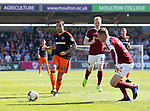 Sheffield United's Samir Carruthers in action during the League One match at the Sixfields Stadium, Northampton. Picture date: April 8th, 2017. Pic David Klein/Sportimage