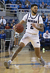 Nevada guard Jalen Harris (2) against Colorado Christian during the second half of an NCAA college basketball game in Reno, Nev., Wednesday, Oct. 30, 2019.