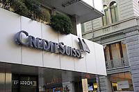 - Lugano, Credit Suisse Bank headquarters....- Lugano, sede della banca Credit Suisse