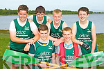 The Flesk Valley crew that won the u16 boys sixes at the Killarney Regatta on Monday evening front l-r: Michael Cremin, Shane Breen. Back row: Shane Griffin, Jack Foley, Anthony Breen and Sean Cremin
