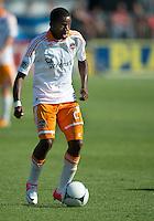 July 28, 2012: Houston Dynamo midfielder Boniek Garcia #27 in action during a game between Toronto FC and the Houston Dynamo at BMO Field in Toronto, Ontario Canada..The Houston Dynamo won 2-0.