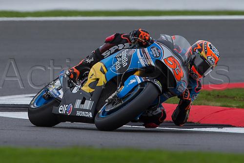 26th August 2017, Silverstone Circuit, Northamptonshire, England; British MotoGP, Qualifying; EG 0,0 Marc VDS MotoGP rider Tito Rabat