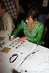 As The World Turns' Colleen Zenk at the autograph table during The 24th Annual Broadway Flea Market & Grand Auction to benefit Broadway Cares/Equity Fight Aids on September 26, 2010 in Shubert Alley, New York City, New York. (Photo by Sue Coflin/Max Photos)