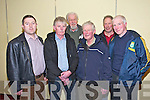 Edward O'Sullivan, Ballyhar, Sean Kennedy, Dingle, Paul Doyle, Tralee, James Brosnan, Dingle, Colin Murphy, Lispole, Michael Kelleher, Dingle at the executive meeting of the Kerry ICMSA in the Meadowlands Hotel on Tuesday