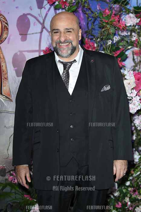 LONDON, UK. November 01, 2018: Omid Djalili at the European premiere of &quot;The Nutcracker and the Four Realms&quot; at the Vue Westfield, White City, London.<br /> Picture: Steve Vas/Featureflash