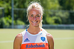 AMSTELVEEN - CHARLOTTE VEGA, Nederlands team dames op weg naar de HWL. COPYRIGHT KOEN SUYK