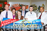 Kathleen Brennan this weeks buy Kerry winner receives 1500euro in prizes in Moriarty's Furniture, Killorglin on Tuesday l-r: Brendan Kennelly Kerry's Eye, Hannah Mai Harris Moriarty's Furniture, Kathleen Brennan, Mike Moriarty Moriary's Furniture, Anthony O'Connor Killorglin Credit Union and Shaz Malik Kerry's Eye..