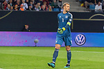 06.09.2019, Volksparkstadion, HAMBURG, GER, EMQ, Deutschland (GER) vs Niederlande (NED)<br /> <br /> DFB REGULATIONS PROHIBIT ANY USE OF PHOTOGRAPHS AS IMAGE SEQUENCES AND/OR QUASI-VIDEO.<br /> <br /> im Bild / picture shows<br /> <br /> Manuel Neuer (Deutschland / GER #01)<br /> <br /> während EM Qualifikations-Spiel Deutschland gegen Niederlande  in Hamburg am 07.09.2019, <br /> <br /> Foto © nordphoto / Kokenge