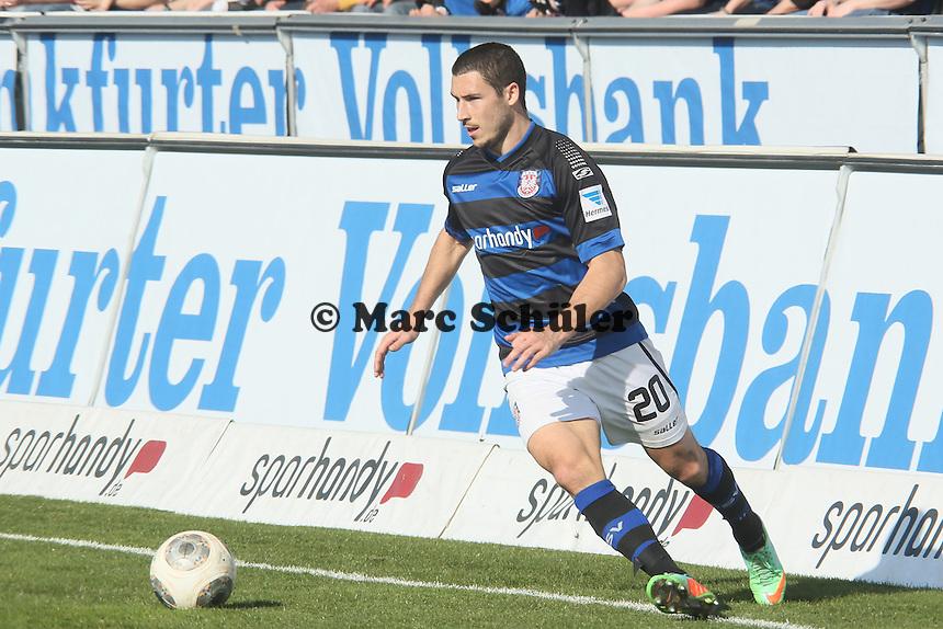Mathew Leckie (FSV) - FSV Frankfurt vs. FC St. Pauli, Frankfurter Volksbank Stadion