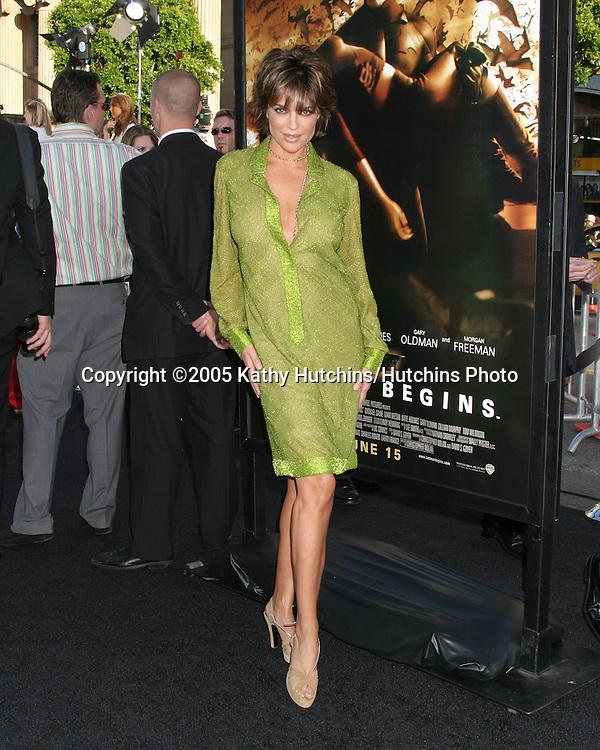 Lisa Rinna.Premiere of Batman Begins.Grauman's Chinese Theater.Los Angeles, CA.June 6, 2005.©2005 Kathy Hutchins / Hutchins Photo