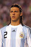 June 04 2008:  Martin Demichelis (Bayern Munich / GER) (2) of Argentina.  During Mexico's 2008 USA Tour in preparation for qualification for FIFA's 2010 World Cup, the national soccer team of Mexico was defeated by Argentina 1-4 at Qualcomm Stadium, in San Diego, CA.