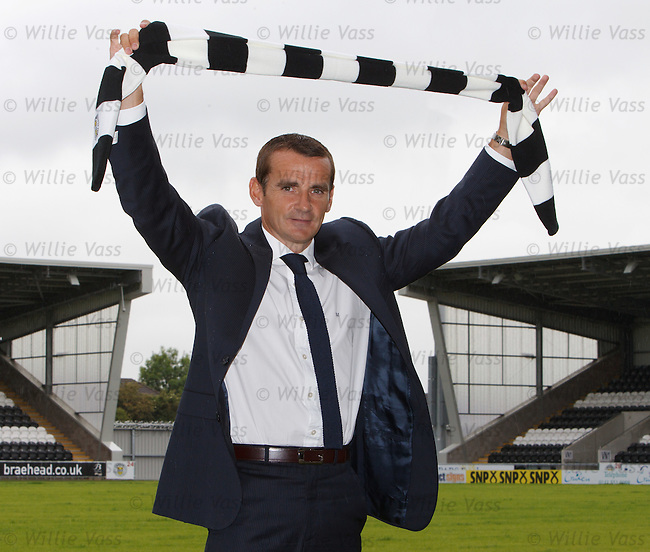 Danny Lennon unveiled as St Mirren manager after agreeing terms with the Paisley club