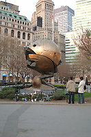 A collection of images from ground zero and related items.