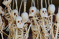Handcrafted skeleton string figures