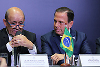 São Paulo (SP), 30/07/2019 - Politica / Governo / São Paulo -Jean Yves Le Drian, Ministro da Europa e dos Negócios Estrangeiros da França, reúne-se com o Governador de São Paulo, João Doria, nesta terça-feira, 30. (Foto: Charles Sholl/Brazil Photo Press/Agencia O Globo) Política