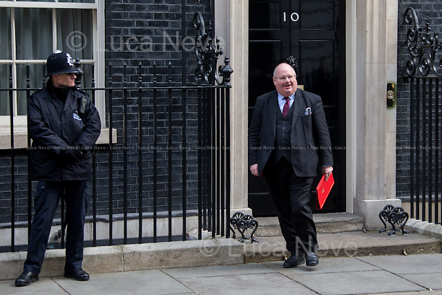 Eric Pickles MP (Secretary of State for Communities and Local Government, Minister for Faith).<br />