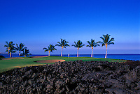 Waikoloa Beach course, No. 12, Big Island, Hawaii.  Architect: Robert Trent Jones II