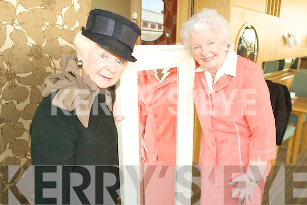 DRESSED TO IMPRESS: Phil Hussey and Celine Slattery were dressed to impress at their annual Fashion Show on Wednesday in the Ballyroe Hotel.