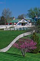 World famous Calumet horse farm, Lexington, Kentucky, (Editorial Use Only) (No Property Release)